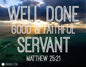 God's Good News Always Begins with a Servant 1