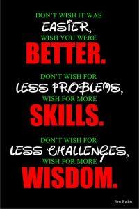 Better Skills and Wisdom 2