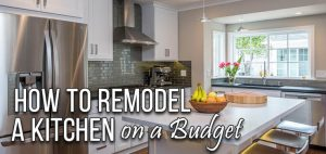 Renovation & Remolding on a Limited Budget 1