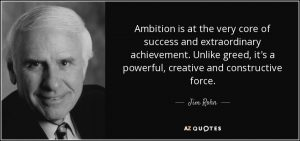 Ambition is a Powerful Force 2