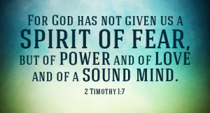Don't Let Fear Intimidate you! 5