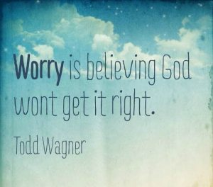 Getting Past Your Worries 5
