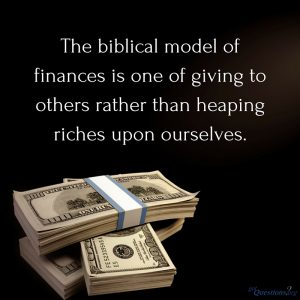 Managing Money with Spiritual Wisdom 5