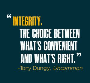 Non-Hypocritical Integrity 2