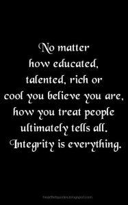 Non-Hypocritical Integrity 4