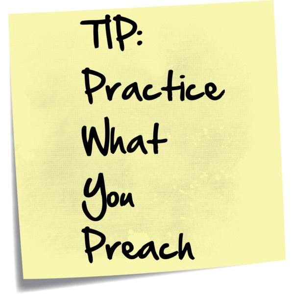Day 825 Practice What You Preach Wisdom Unplugged Wisdom Trek