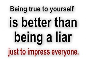 Be True To Yourself 2