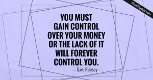 Controlling Your Money 3