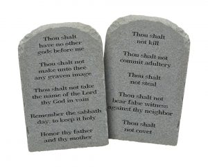 Counting the Ten Commandments 1
