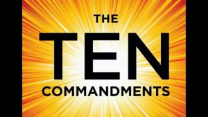 Counting the Ten Commandments 5