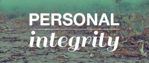 Personal Integrity 1