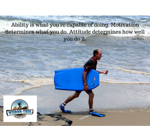 Ability is what you're capable of doing. Motivation determines what you do. Attitude determines how well you do it